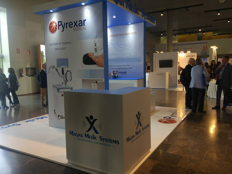 Magna Medic Systems / Pyrexar booth at the SEOR Spain