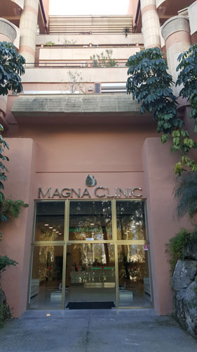 magna clinic front